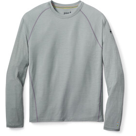 Smartwool Merino 150 Baselayer Pattern Long Sleeve Men Light Gray